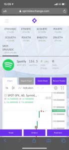 """Lee más sobre el artículo """"Spotify"""" ya puedes comprar acciones con Crypto en SprinkleExchange"""