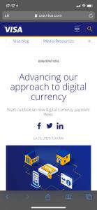 Lee más sobre el artículo VISA se suma al mundo Crypto?
