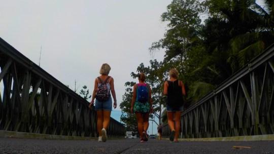 Cruzar la frontera entre Costa Rica y Panamá por el Caribe