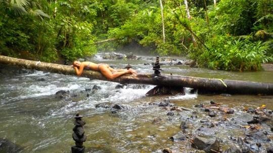 Las termas naturales de Tabacón