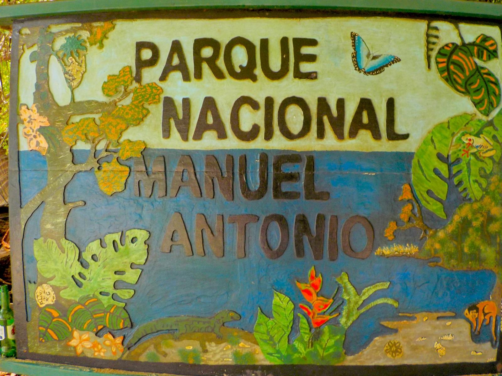 Entrada Parque Nacional Manuel Antonio