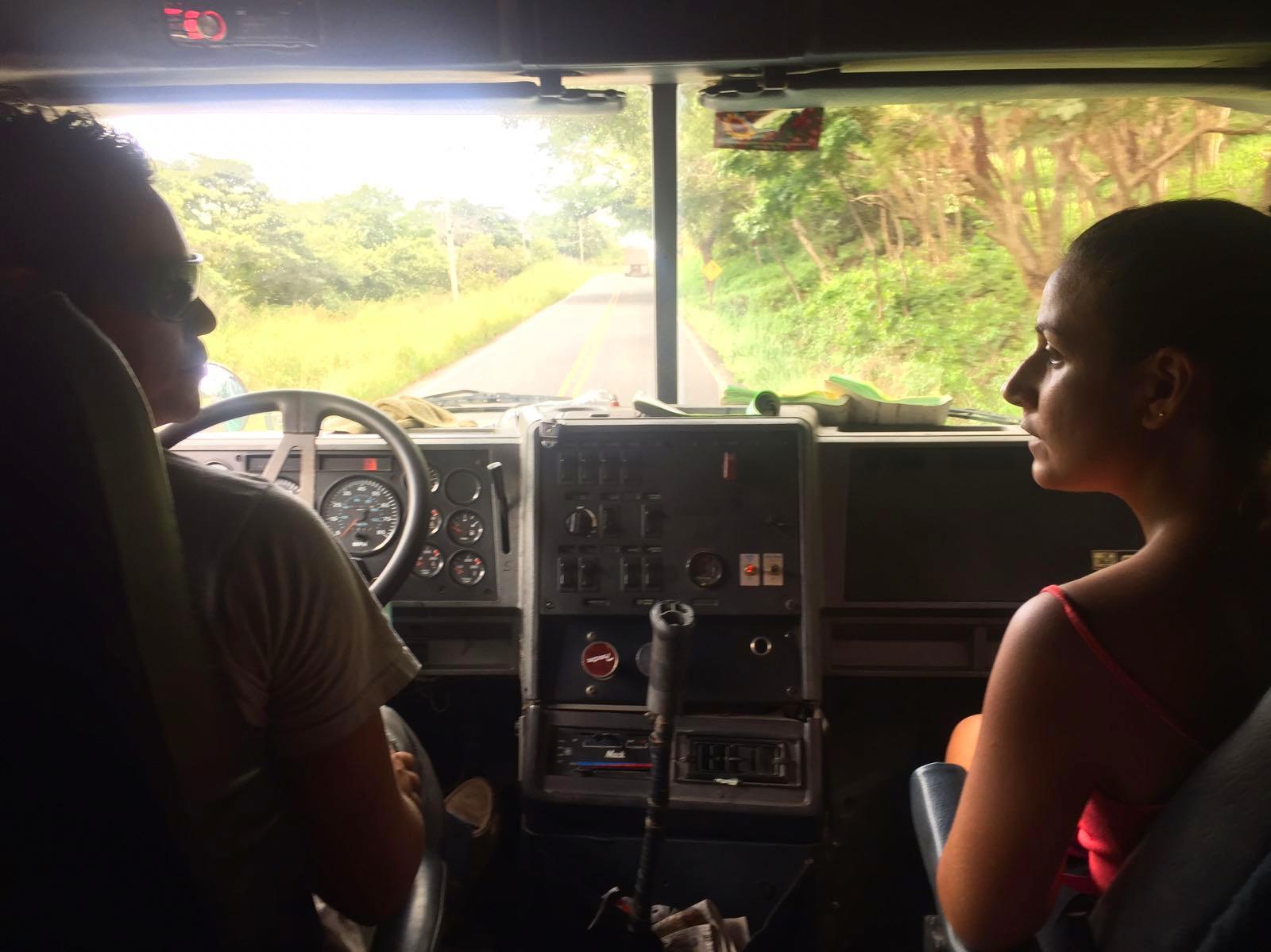 Autostop en camión. Ruta Bagaces-Tilarán