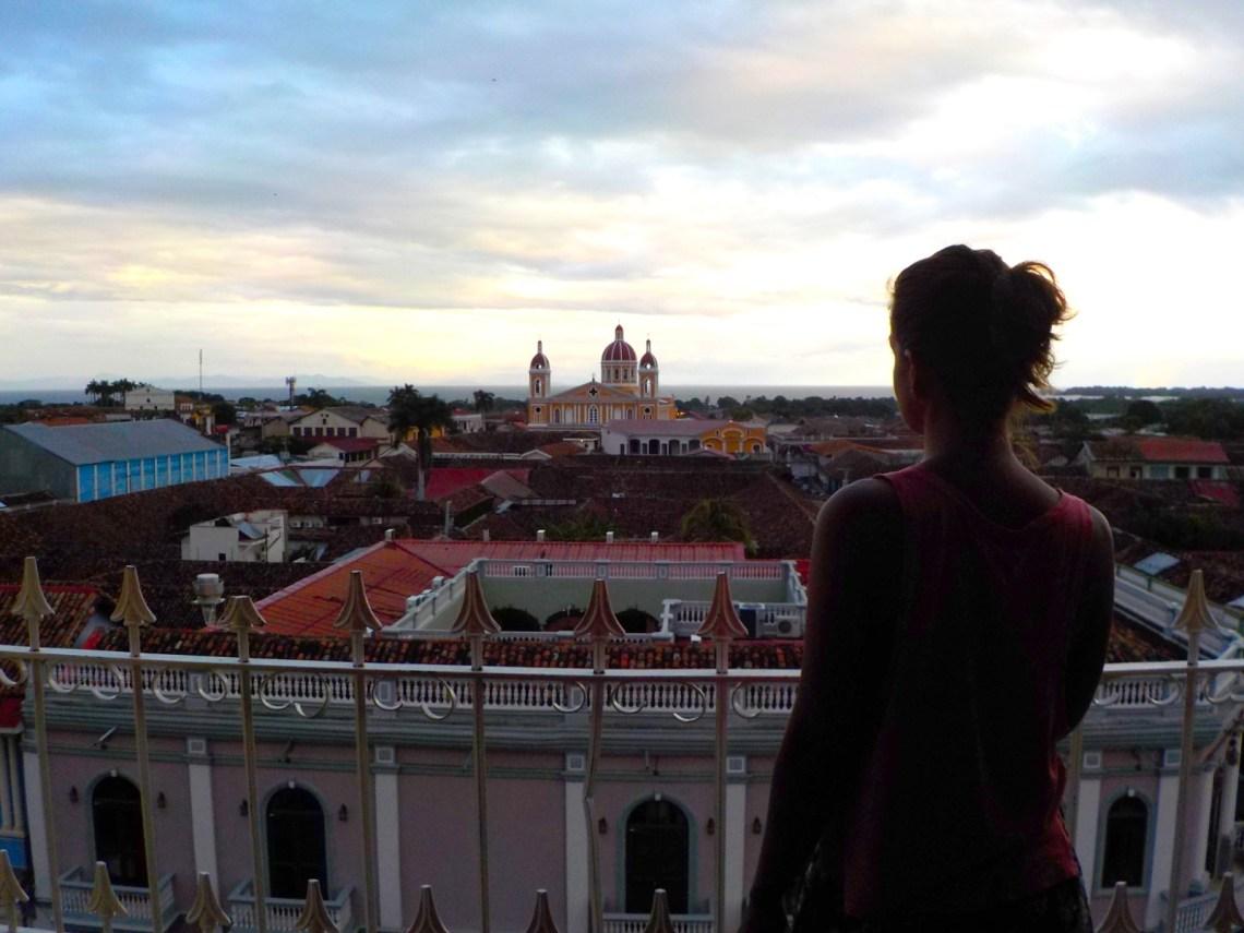 Desde lo alto de la Merced, Granada, Nicaragua