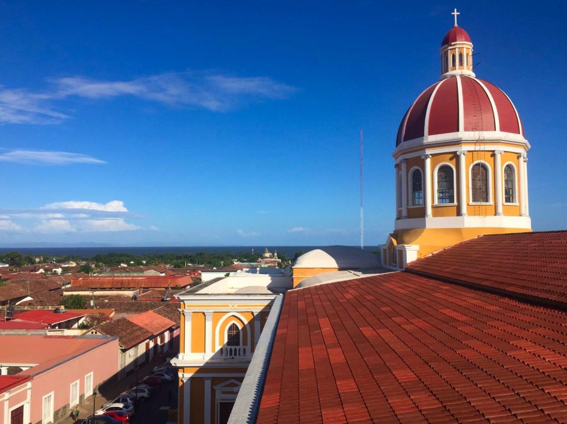 Vista desde la Catedral, Granada, Nicaragua
