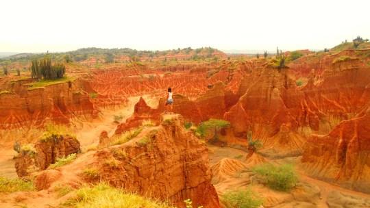 El impresionante desierto de Tatacoa