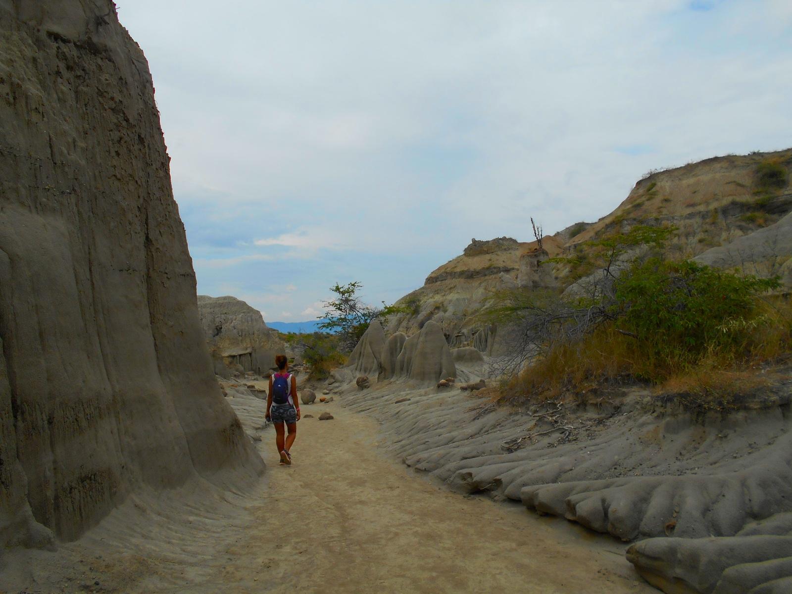 Desierto de Tatacoa, los hoyos