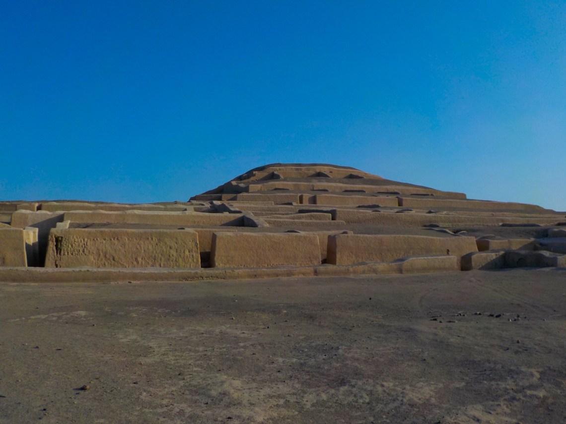 Pirámides de Cahuachi, Nazca, Perú