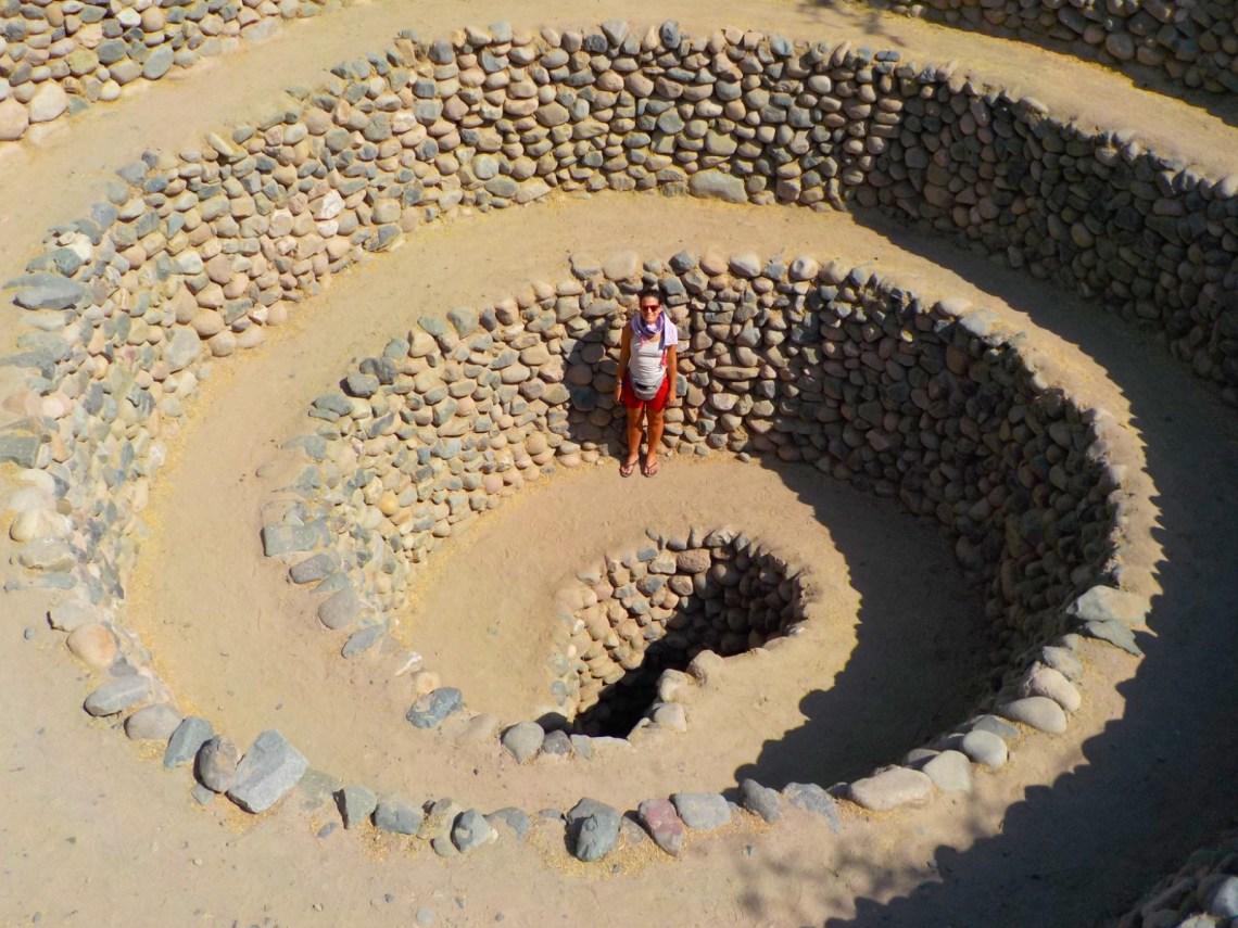 Acueductos de Cantalloc, Nazca, Perú