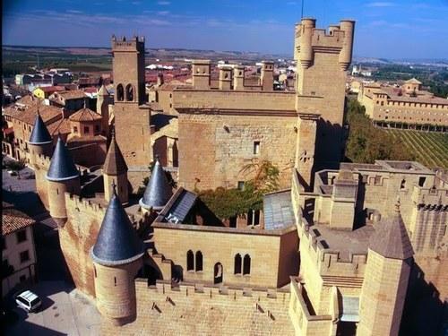 Olite en Navarra, pueblos bonitos