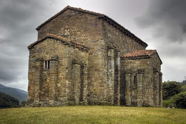 ruta por Asturias. Santa Cristina de Lena