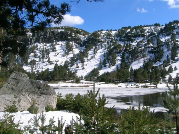 Lagunas congeladas