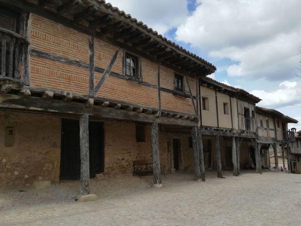 Casas de Adobe en Calatañazor