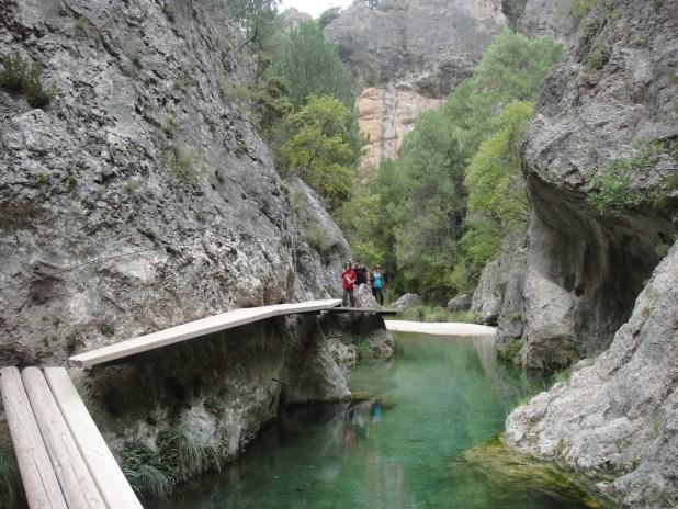 Piscinas naturales. rutas de senderismo más impresionantes de España