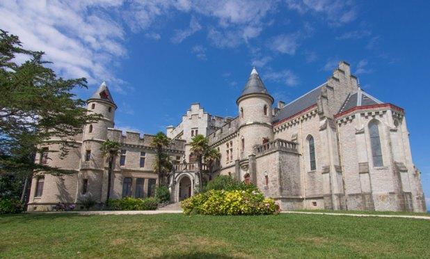 Hendaya castillo abadia