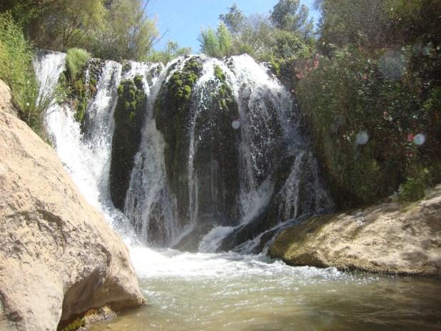 ruta a la cascada de Letur