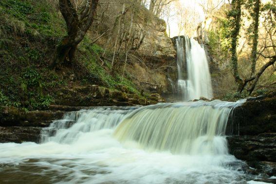 Cascada de las Pisas. Norte de Burgos