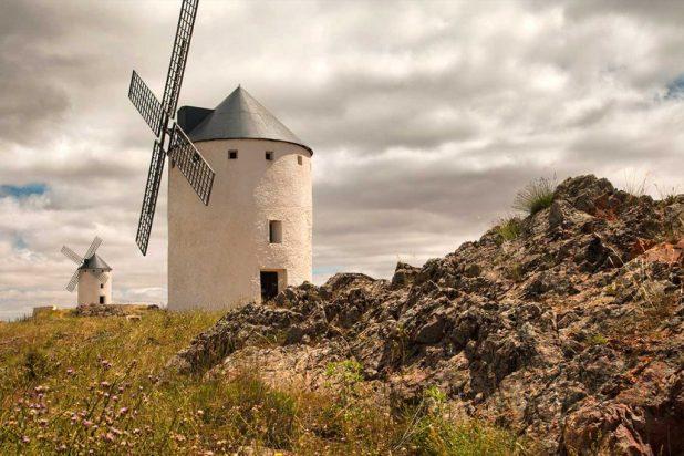 ruta de los molinos de El Quijote. Herencia