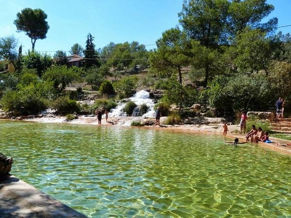 Zona de baño en el lago de Anna