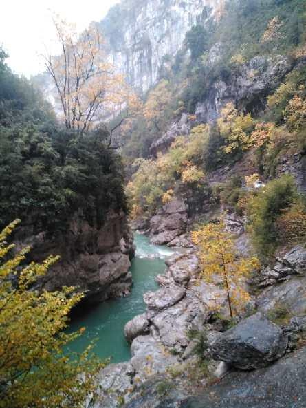 Aguas frías y cristalinas del río Ara