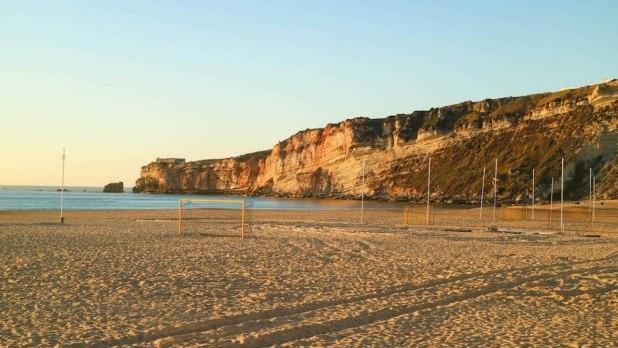 Playa de Nazaré. Playas de Portugal