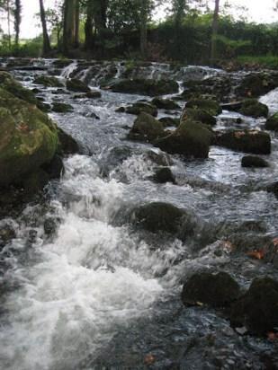 Aguas del río Aguanaz