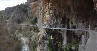 Cañón de Alquézar n el río Vero