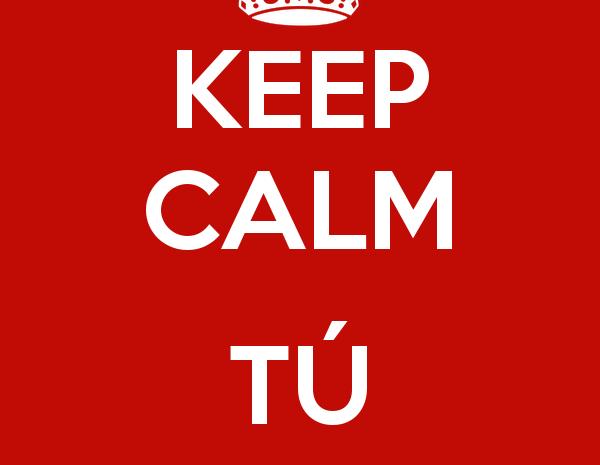 Keep calm, sólo es la EvAU