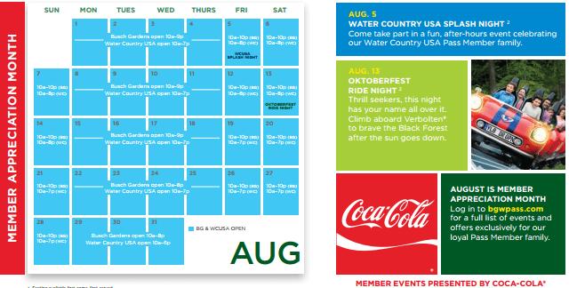 BDs Busch Gardens Summer Bulletin 2016 Busch Dominion