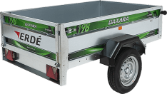 Remolque de carga 185×115 Daxara 198