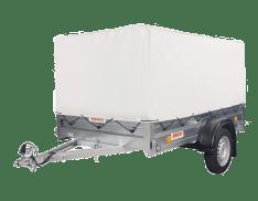 Remolque de carga Sorel Pratik 2.5 Toldo Incluido
