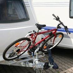 Portabicis para lanza de caravanas DT2