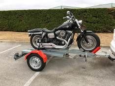 Remolque de moto plegable HD Oziconcept (Hasta 450 Kg)