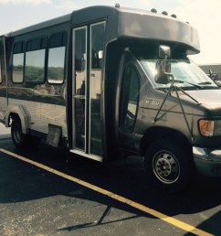 2002 ford e 450 custom 12 passenger bus [ 1024 x 768 Pixel ]