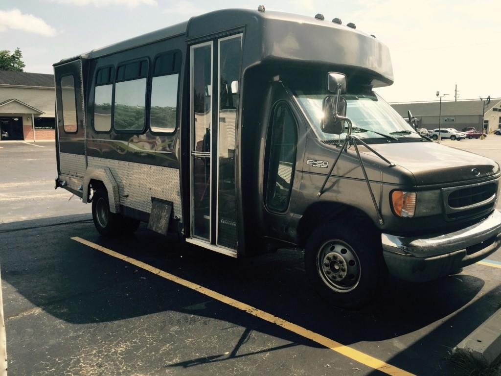 hight resolution of 2002 ford e 450 custom 12 passenger bus