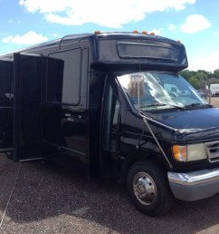 2002 ford e 450 super duty v 10 party limo shuttle church bus [ 1024 x 768 Pixel ]