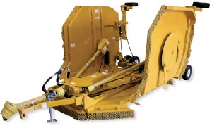 Bush-Whacker T-240 Flex-Wing rotary cutter