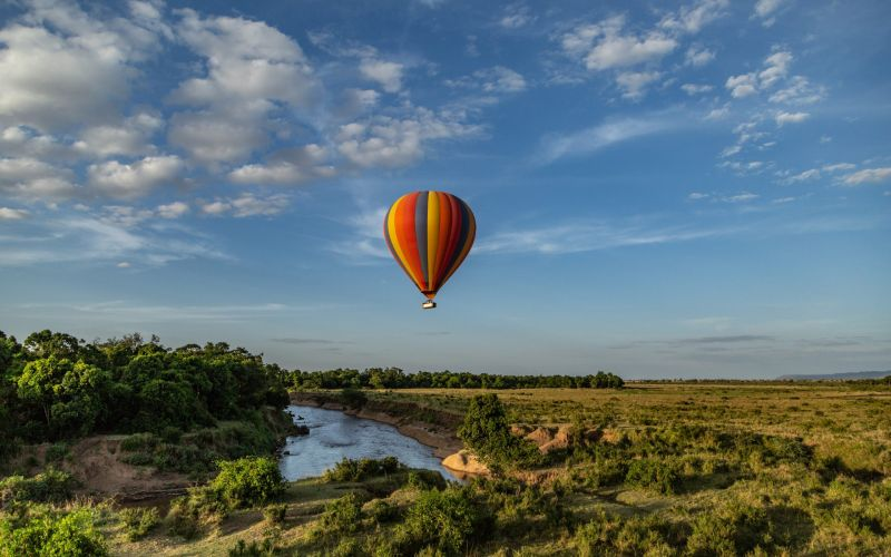 Ballooning Over Africa