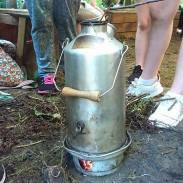 Kelly kettle fire lighting challenge