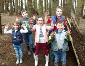 School trip South Wales outdoor learning Wales