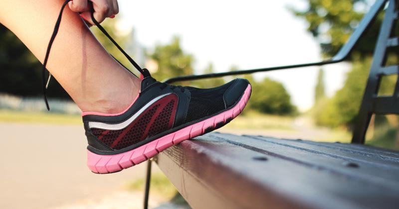 Running lowers stress