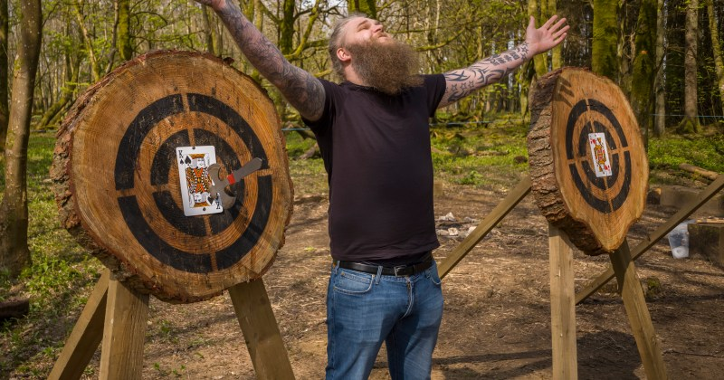 Axe throwing Bridgend