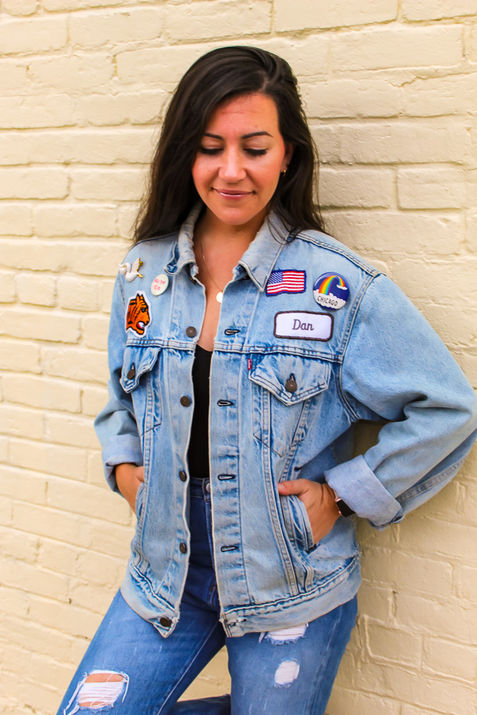 DIY: Customizing a Jean Jacket