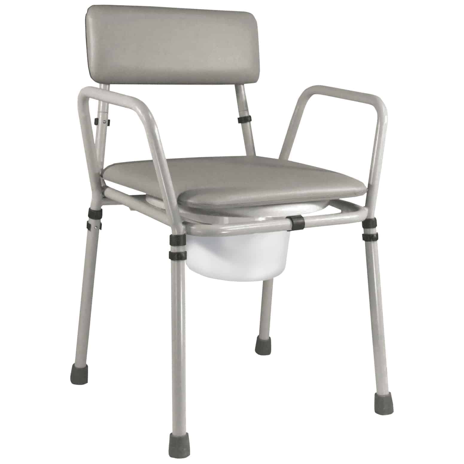 Height Adjustable Chair Essex Height Adjustable Commode Chair