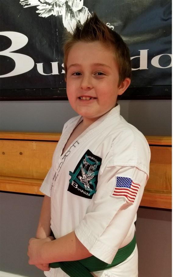 green belt karate kid