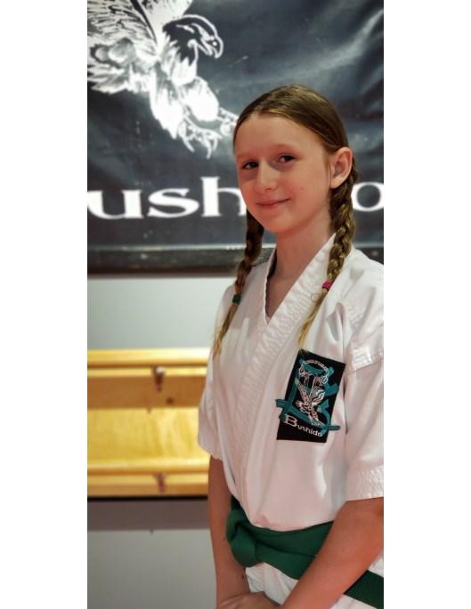 karate student spotlight