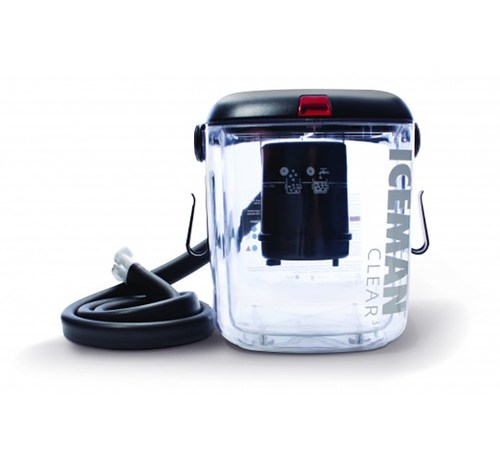 Iceman clear ice therapy unit