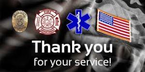 first responder logos