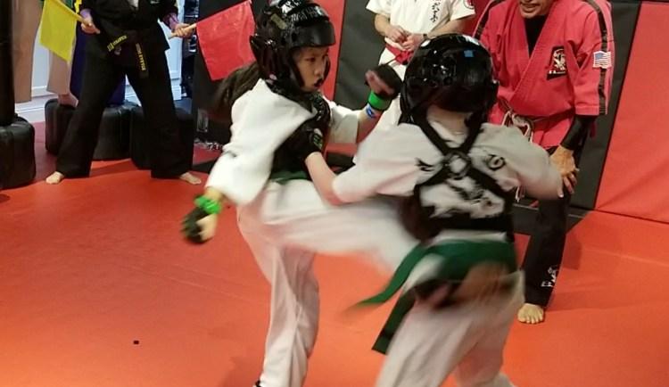 kids sparring