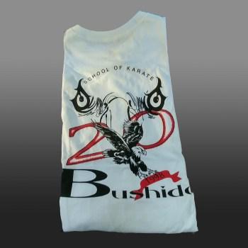 Bushido Karate 20th anniversary tshirt