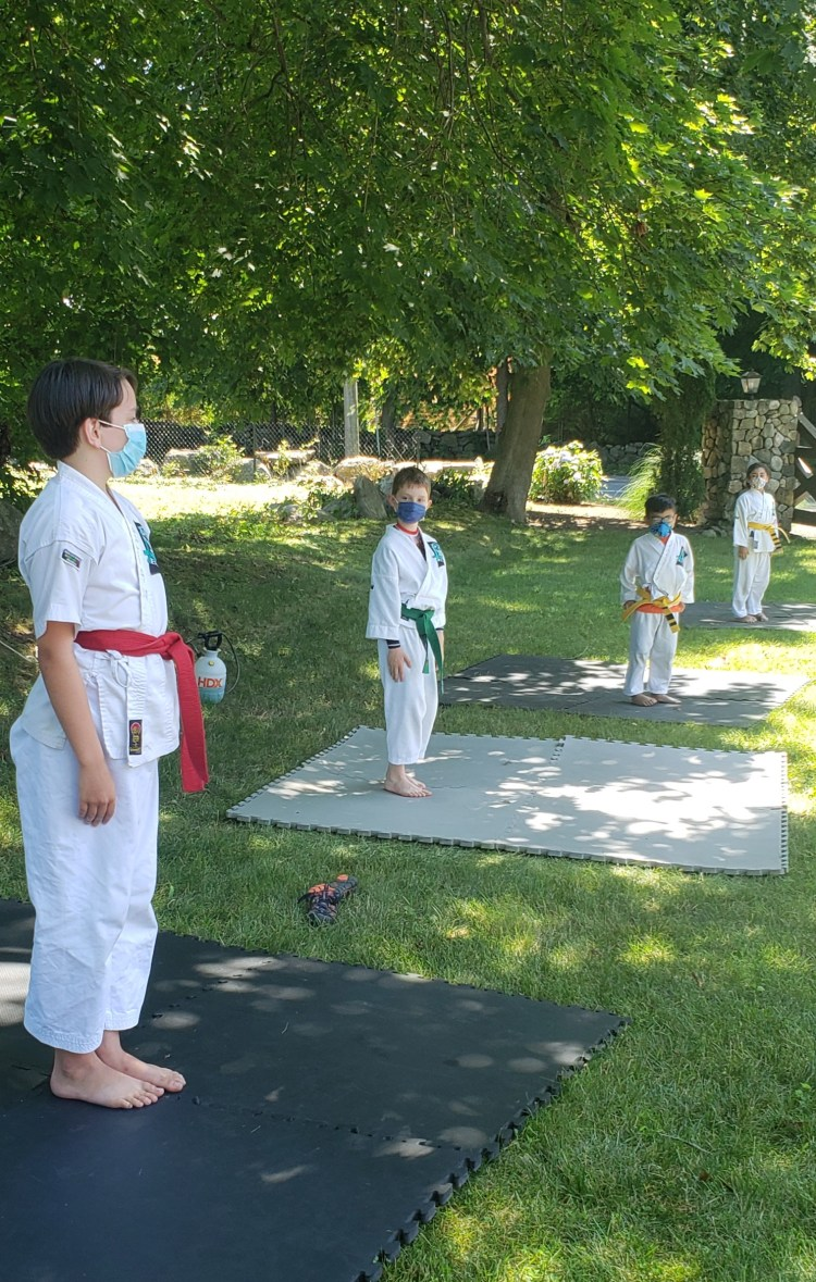 private-group martial arts class